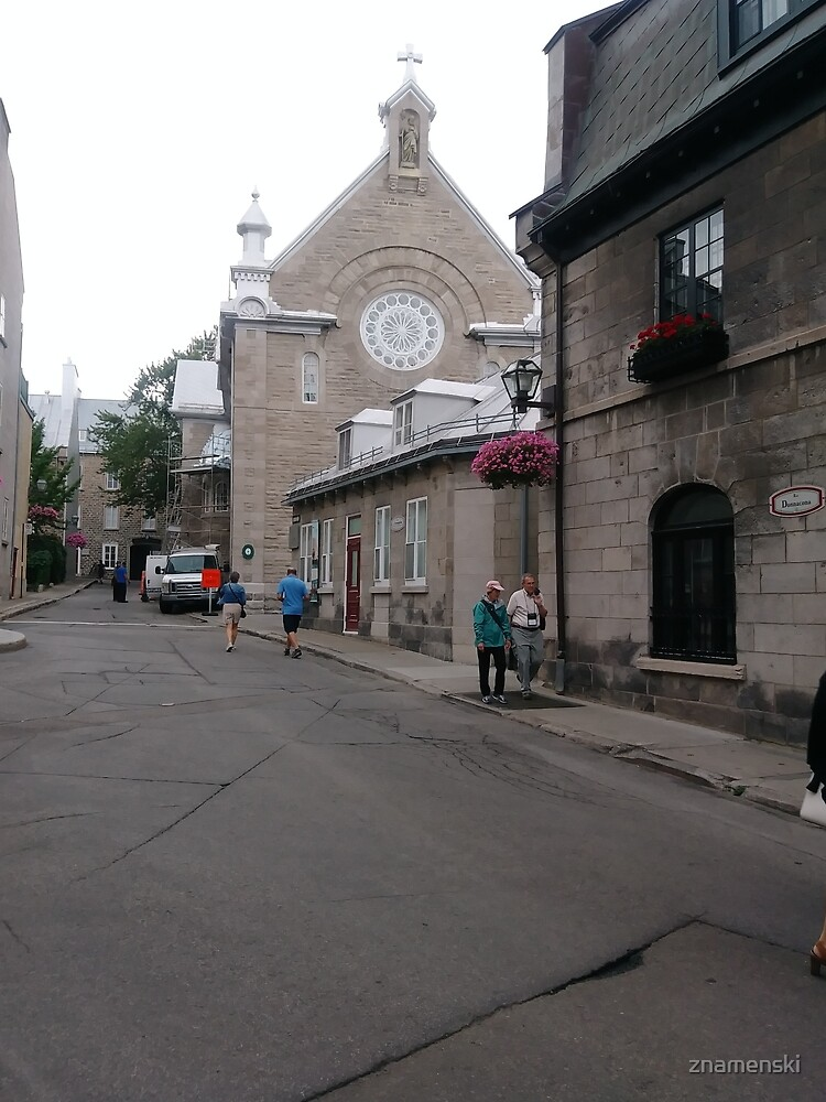 Quebec City, #QuebecCity, #Quebec, #City, #Canada, #buildings, #streets, #places, #views, #nature, #people, #tourists by znamenski