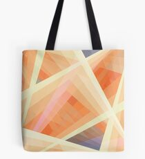 Abstract Orange Structure Tote Bag
