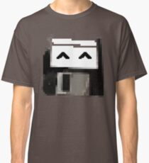 Degraded floppy smiley Classic T-Shirt