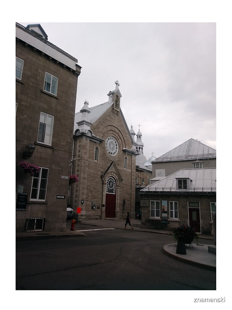 Quebec City, #QuebecCity, #Quebec, #City, #Canada, #buildings, #streets, #places, #views, #nature, #people, #tourists, #pedestrians by znamenski