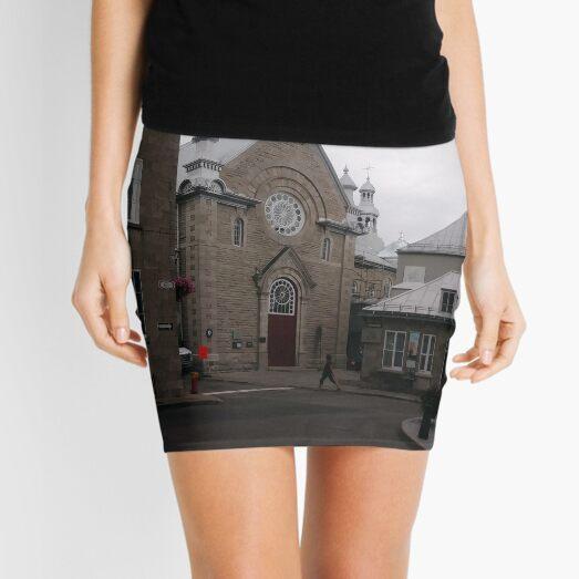 Quebec City, #QuebecCity, #Quebec, #City, #Canada, #buildings, #streets, #places, #views, #nature, #people, #tourists, #pedestrians Mini Skirt