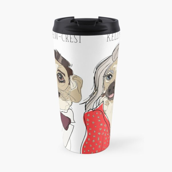Celebrity Dogs-Live with Ryan Chew-Crest and Kelly Ruff-A Travel Mug