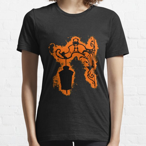 Silhouette lantern orange and black silhouette Essential T-Shirt