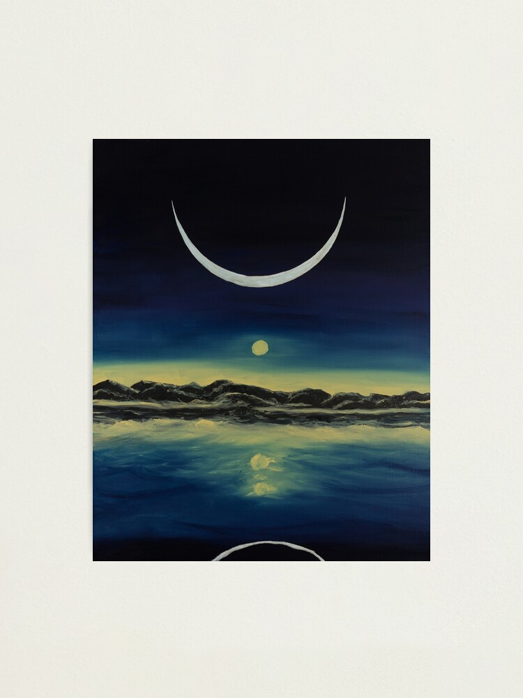 Alternate view of Supernatural Eclipse Photographic Print