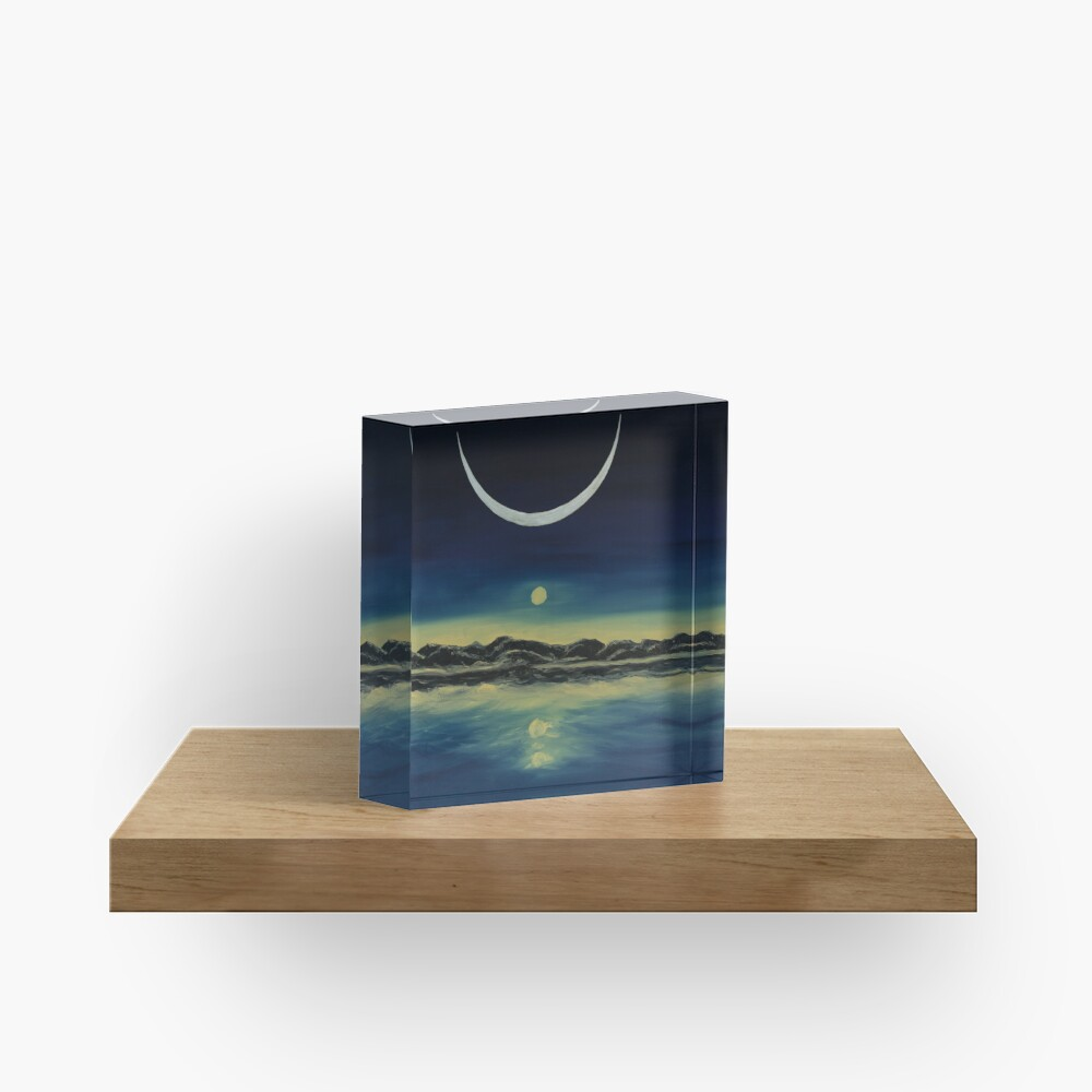 Supernatural Eclipse Acrylic Block