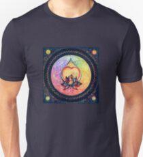 """The Drop of Golden Rain"" - Mandala of Wealth Unisex T-Shirt"