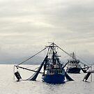 Fishing Trawlers by Kymbo