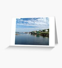 West Dover, Nova Scotia Greeting Card