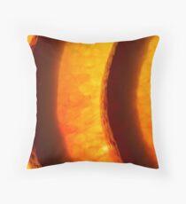 Blood Orange II Throw Pillow