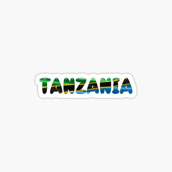 Tanzania! Sticker
