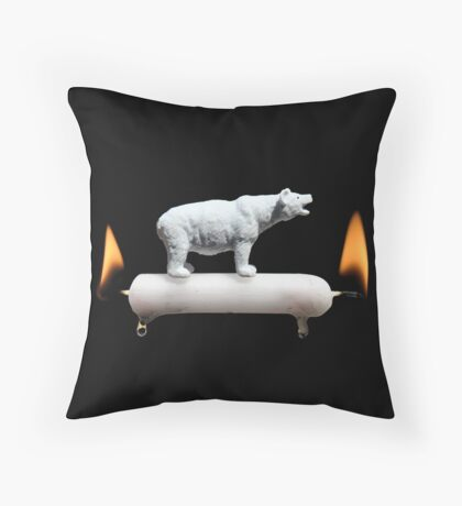 Scorched Earth Policy Throw Pillow