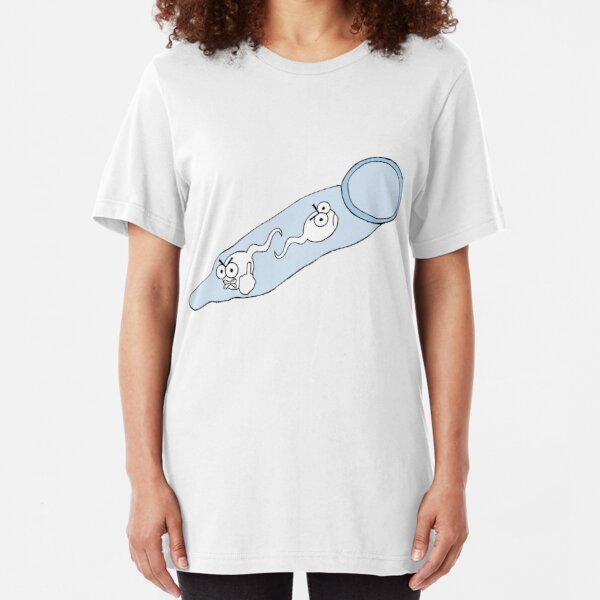 Mad Spermies Slim Fit T-Shirt