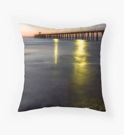 Jetty Light Throw Pillow