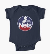 DEFUNCT - New Jersey Nets, Retro Basketball One Piece - Short Sleeve