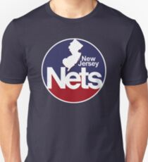 DEFUNCT - New Jersey Nets, Retro Basketball Unisex T-Shirt