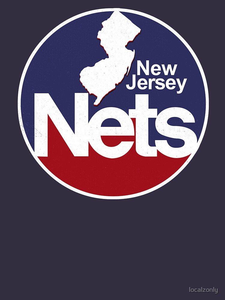 DEFUNCT - New Jersey Nets, Retro Basketball by localzonly