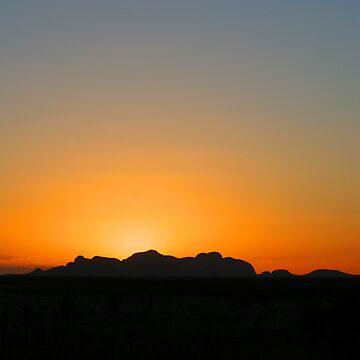 Kata Tjuta Sunset by JohnDalkin