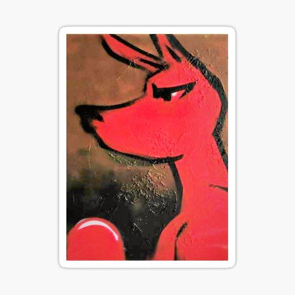 Boxie Red Sticker