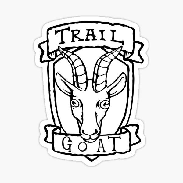 Trail Goat Sticker