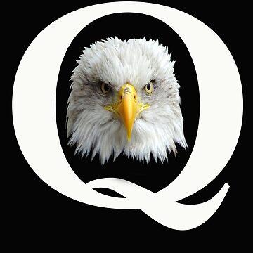 Qanon Patriotic Eagle Q Anon Truth Always Wins by JenniferMac