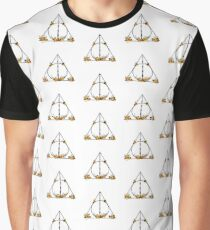 Deathly Hallows   Harry Potter   Hufflepuff Graphic T-Shirt