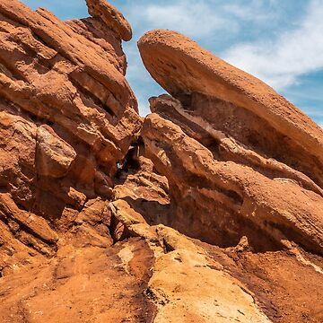 Garden of the Gods Rock Formation by cheesim
