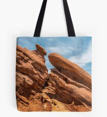 Garden of the Gods Rock Formation Tote Bag