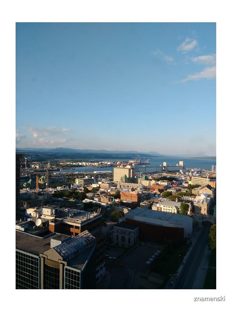 Quebec City, #QuebecCity, #Quebec, #City, #Canada, #buildings, #streets, #places, #views, #nature, #people, #tourists, #pedestrians, #architecture, #flowers by znamenski