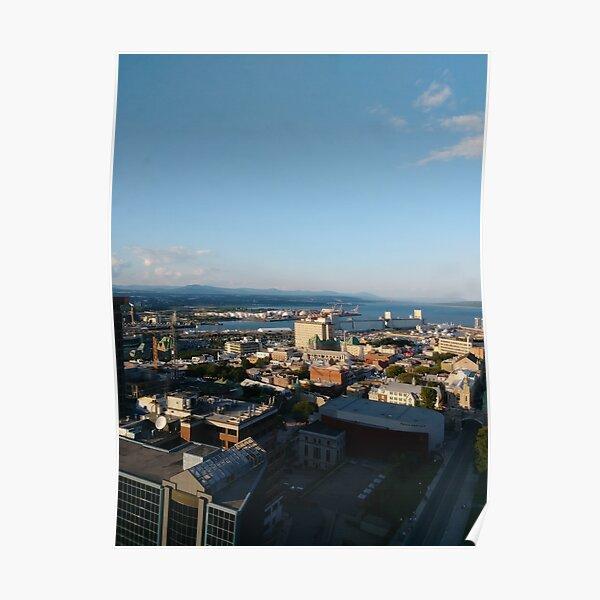 Quebec City, #QuebecCity, #Quebec, #City, #Canada, #buildings, #streets, #places, #views, #nature, #people, #tourists, #pedestrians, #architecture, #flowers Poster