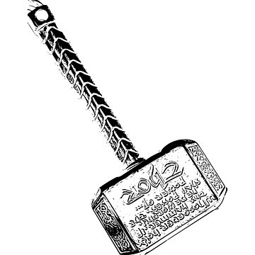 Mjolnir - Thor's Hammer by josemontanez18