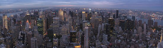 New York, Empire State Building by Michiel van Erp