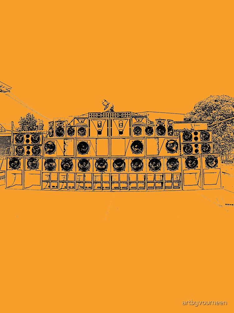 Reggae Soundsystem  by artbyvourneen