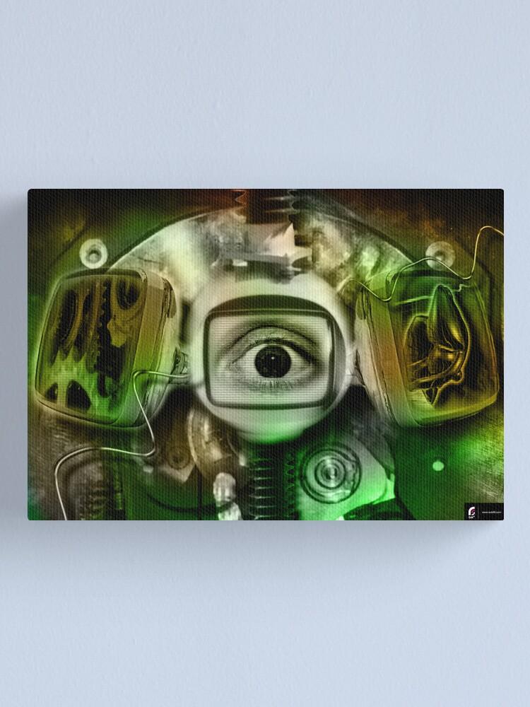 Alternate view of TV-R Canvas Print