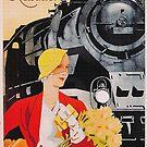 Glamorous Railway travel 1930s by edsimoneit