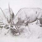 Oryx Battle by tinomudaishe