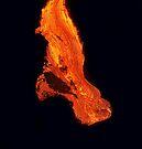 Lava Flow at Kalapana 3  by Alex Preiss