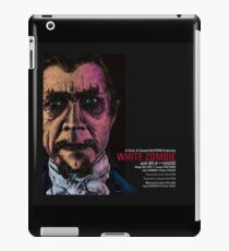 CLASSIC HORROR MOVIE POSTERS REIMAGINED -  WHITE ZOMBIE - 1932 iPad Case/Skin