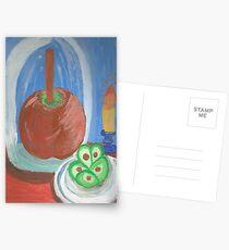 Still Life Caramel Apple Postcards