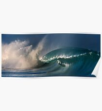 Winter Waves At Waimea Bay 10 Poster