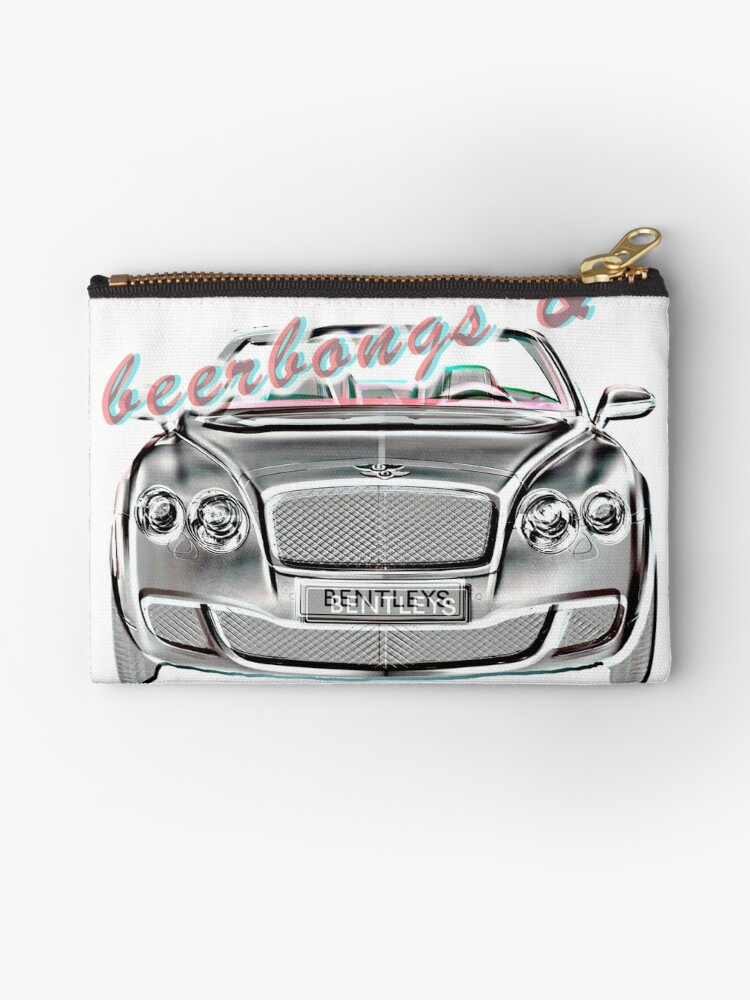 'Post Malone- Beerbongs and Bentleys' Zipper Pouch by ktsammie