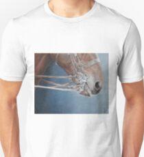 Champing at the bit. Unisex T-Shirt