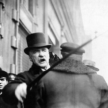 J.P. Morgan Attacking A Photographer - 1910 by warishellstore