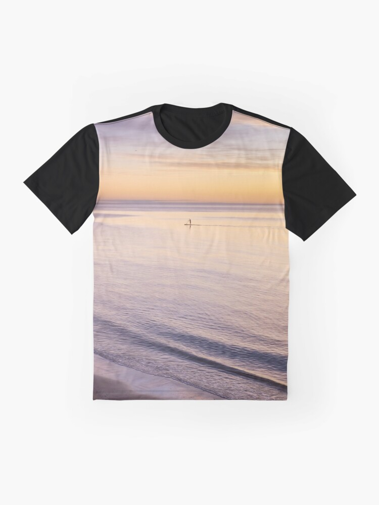 Alternate view of Sunset Paddle Graphic T-Shirt