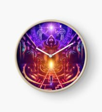 """""""The Key is within"""" Clock"""