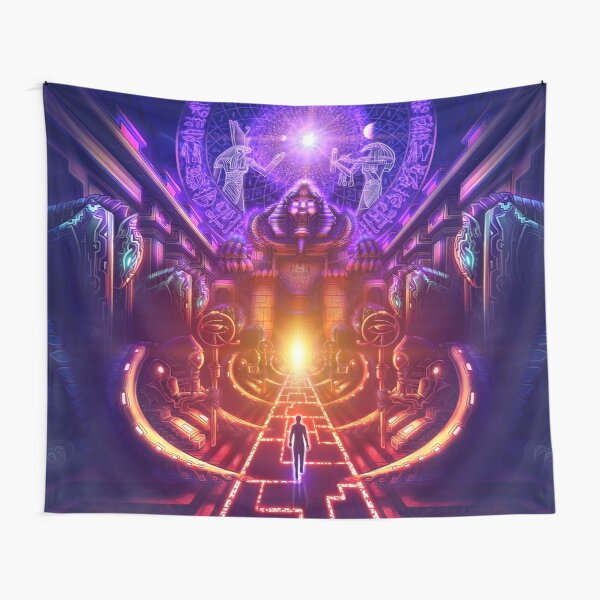 """The Key is within"" Tapestry"