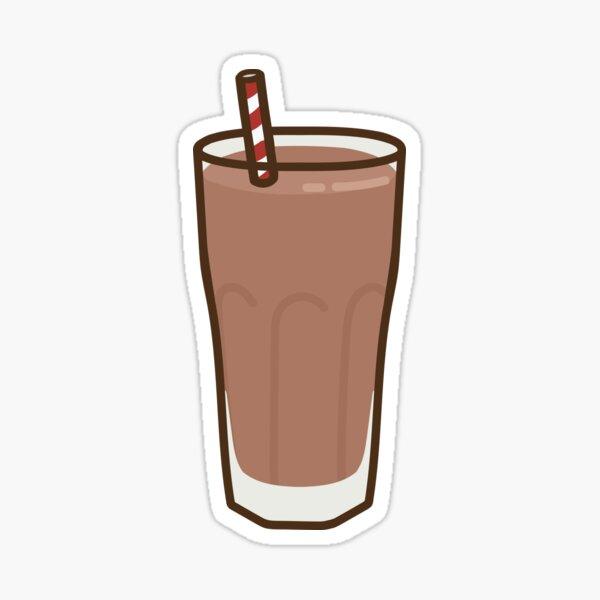 Chocolate Milk Sticker