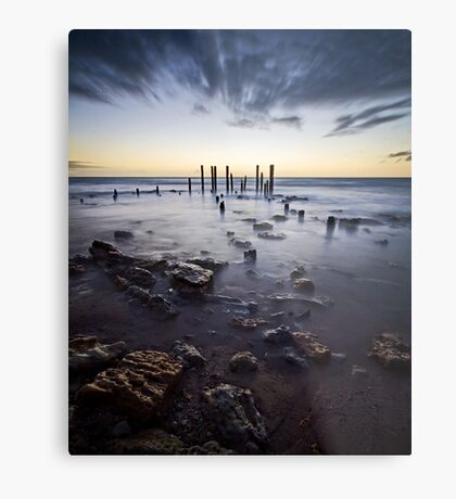 At the going down of the sun... Metal Print