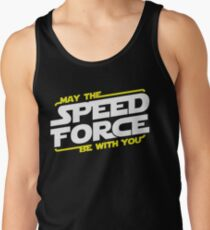May The Speed Force Be With You Tank Top