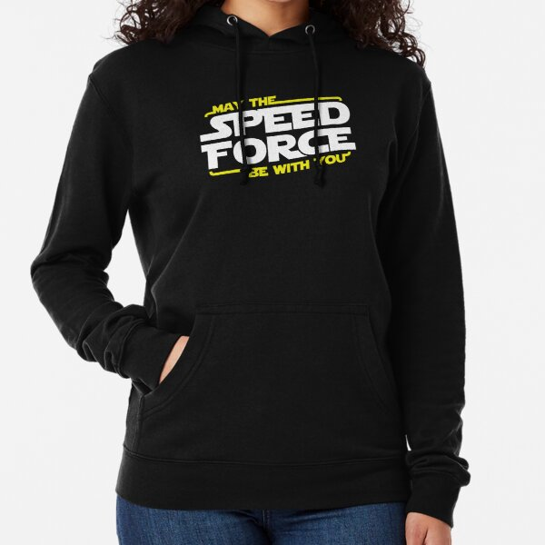May The Speed Force Be With You Lightweight Hoodie