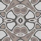 «Arte de Bali de la cadera color gris pardo mauve gris oscuro» de LC Graphic Design Studio